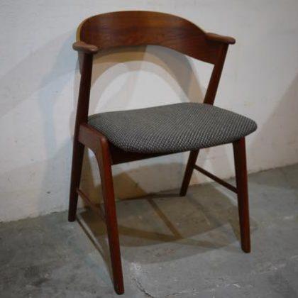 北欧中古家具、ビンテージ家具、デンマーク家具、チーク家具、KAI KRISTIANSEN,カイクリスチャンセン、椅子